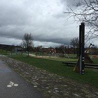 Le parc  de la Seille