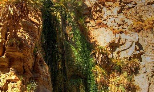 60 m side waterfall