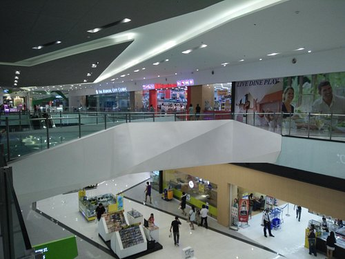 section of the mall's interior