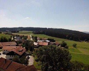 Вид с крепости Weißenstein, Бавария