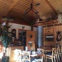 Ancienne forge transformé en salle à manger