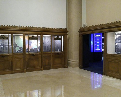 Inside the Economy Museum at the Federal Reserve Bank