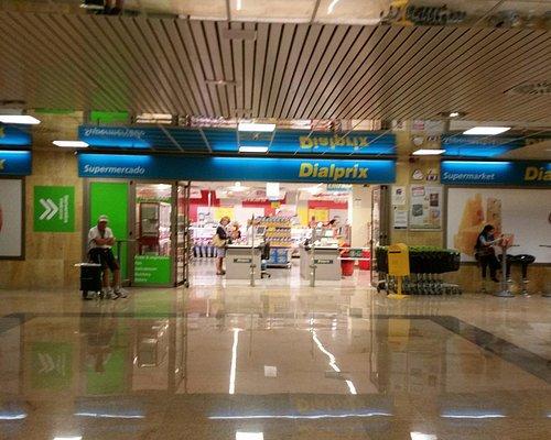 Супермаркет на первом этаже