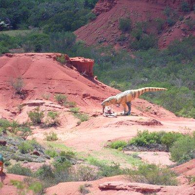 dinosaurios en tamaño real