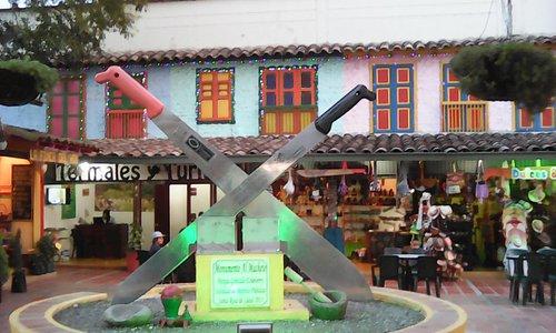 Monumento al Machete, Santa Rosa de Cabal.