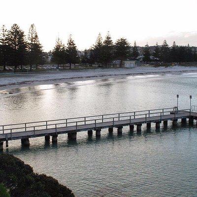 Ellen Cove as seen from the boardwalk