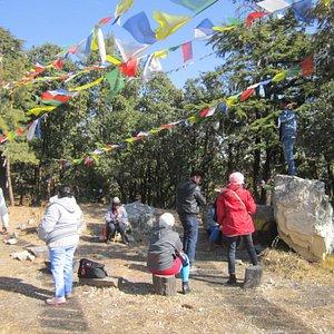Flag Hill in the Jabarkhet Wildlife Reserve.