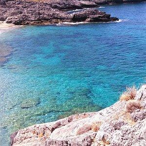 vue d'ammoudi beach