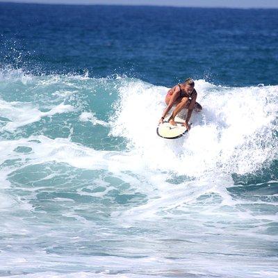Surf student.