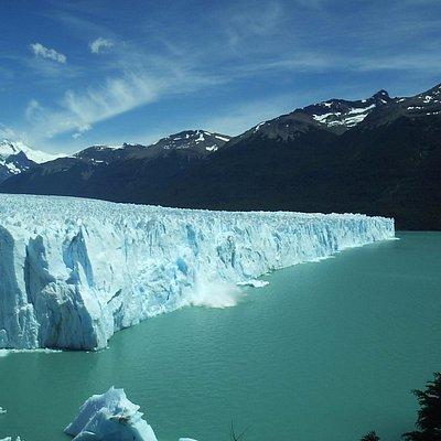 vistas del glaciar