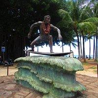 local ícone de Waikiki
