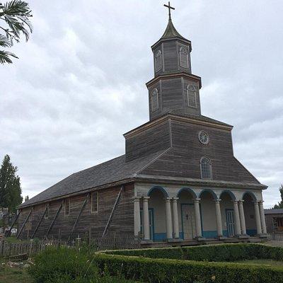 Hermosa Iglesia, una de las 16 declaradas Patrimonio de la Humanidad.