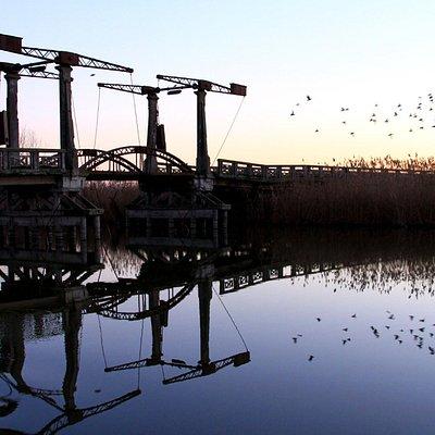 Ponte dei Pesi tra Cantarana e Martinelle (SP 8) sul Canale dei Cuori