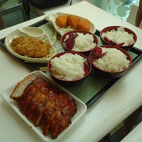 BBQ ribsnya di YATA foodcourt enak sekali.