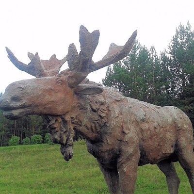 Скульптура Лось, Белорецк