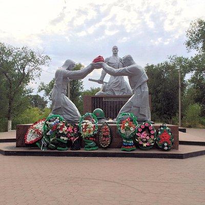 Парк победы, Соль-Илецк