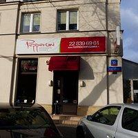 Restauracja i weranda - widok od ulicy