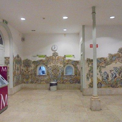 SINTRA RAILWAY STATION AZULEJOS