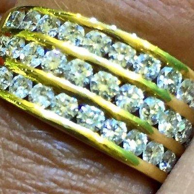 My amazing ring. Handmade my own design.