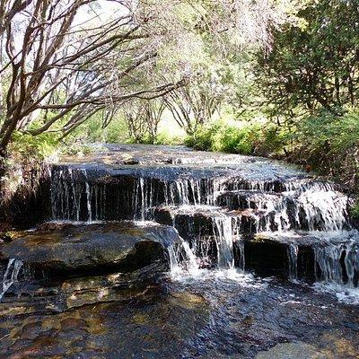 A small cascade near Minnehaha Falls