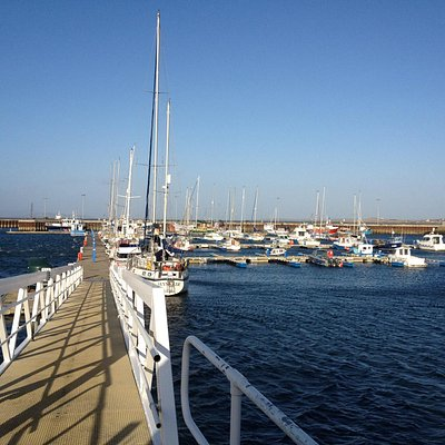 Kirkwall Marina, a short distance from the Town Centre
