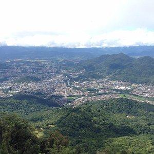 Vista de Jaraguá do Sul