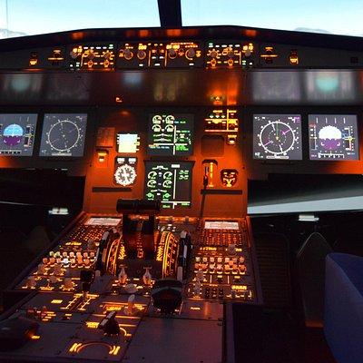 cockpit du Airbus A320
