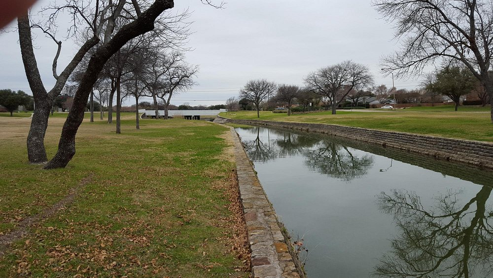 Course is along this creek