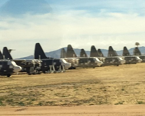 Rows of aircraft