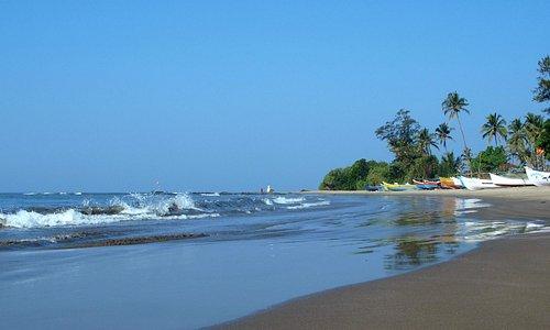 Morjim beach view