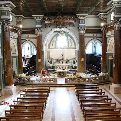 chiesa matrice San Marco Evangelista (Agnone) - interno -