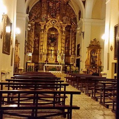 Convento del Copus Chisti, interior