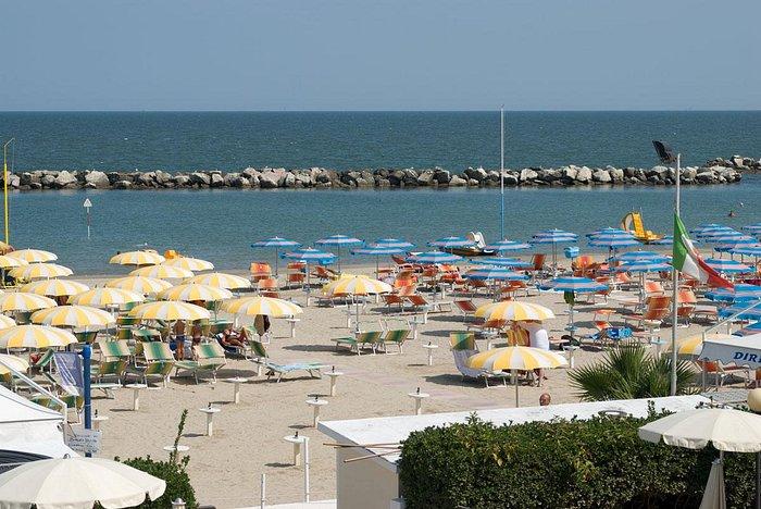 Bellaria Beach from Hotel Capanni