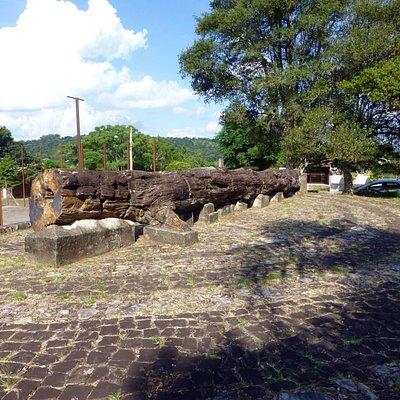 Praça Martimiano Eggres da Costa - Mata, Rio Grande do Sul