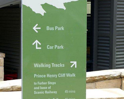 Starting the walk at Scenic World