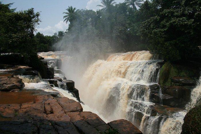 Loufoulakari falls