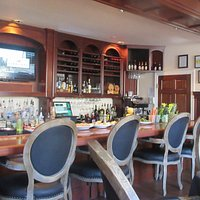 Bar Area with TV, Gardens of Avila, Avila Beach, Ca