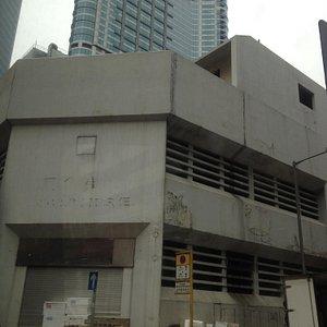 Disused market building