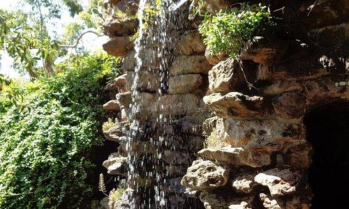 Waterfall & grotto