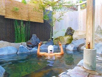 岩戸温泉の露天風呂