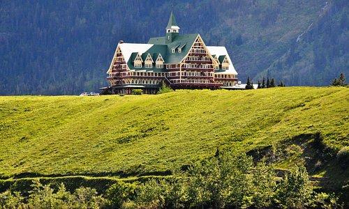 Prince of Wales Hotel in Waterton Lakes, Alberta, Canada