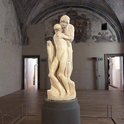 Pietà Rondanini by Michelangelo
