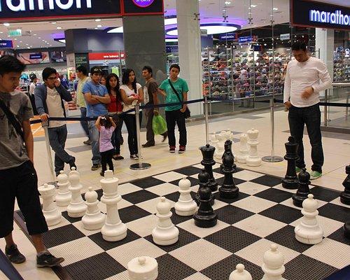 巨大チェスもできます