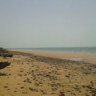 Beach with pure sand