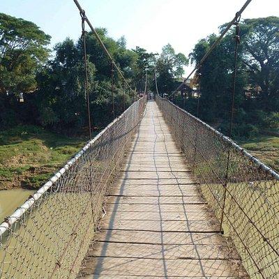 The bridge really swings