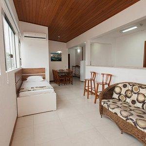 The Flat - 1 room - Master at the Fragata Apart Hotel