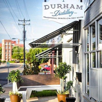 Durham Distillery in Downtown Durham