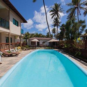 The Pool at the Pousada Iande