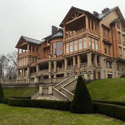 Former Ukrainian president Yanukovich's house in Mezhyhirya