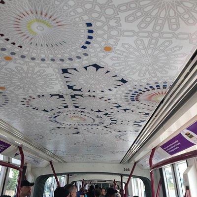Teto do tram